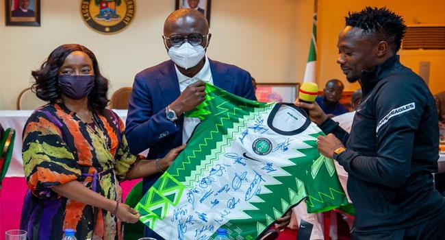 'Football Is National Treasure': Sanwo-Olu Hosts Super Eagles