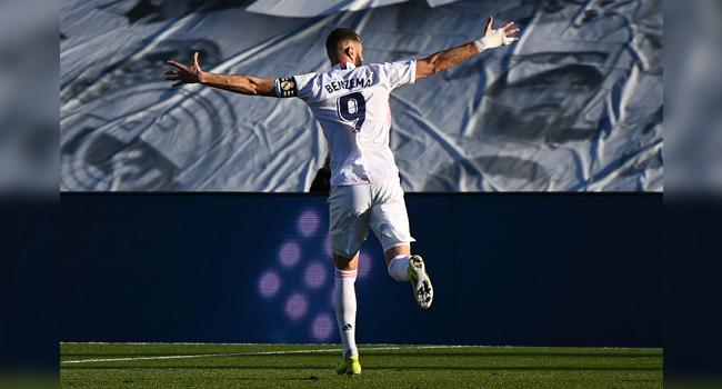 La Liga: Benzema To The Rescue Again As Madrid Beat Elche