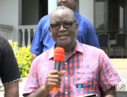 Governor Samuel Ortom addressed reporters on March 20, 2021 after surviving an attack by gunmen suspected to be herdsmen.