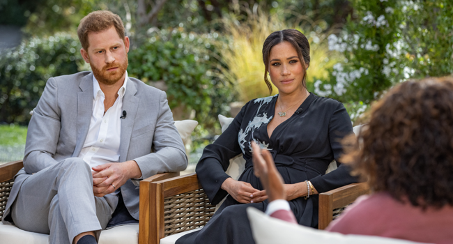 Meghan Says She Contemplated Suicide After Marrying Harry, Alleges Royal Racism