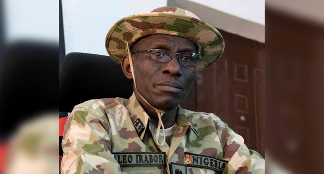 CDS Irabor Charges Troops To End North-East Insurgency