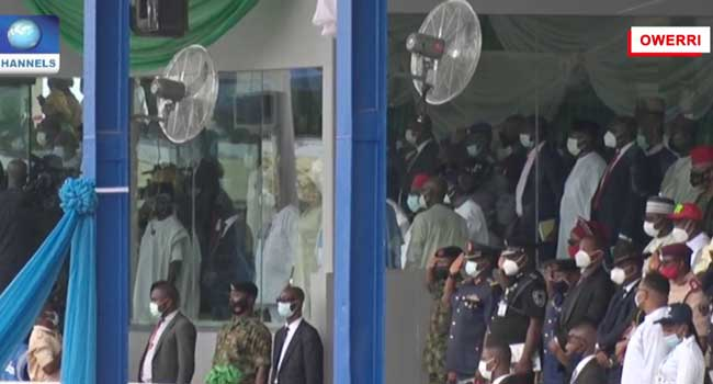 Osinbajo, Others In Owerri For Governor Uzodinma's First Year Anniversary