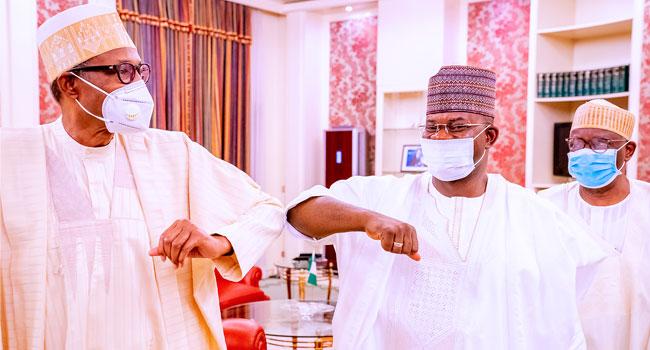 Nigeria's Unity Not Negotiable, Yahaya Bello Says After Meeting Buhari
