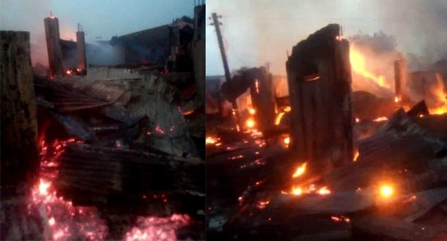 Zamfara Fire: Over 60 Shops Destroyed In TudunWada Market