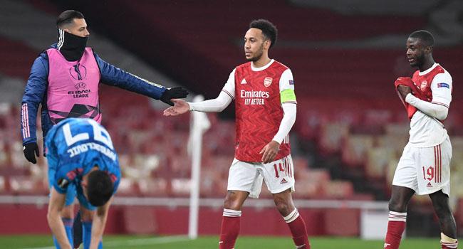 Europa League: Arsenal Stagger Into Quarters As Tottenham Crash Out