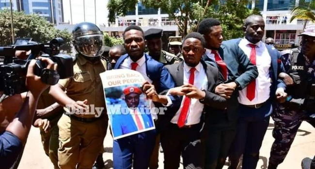 Ugandan Opposition Leader Bobi Wine Arrested For Leading Protest