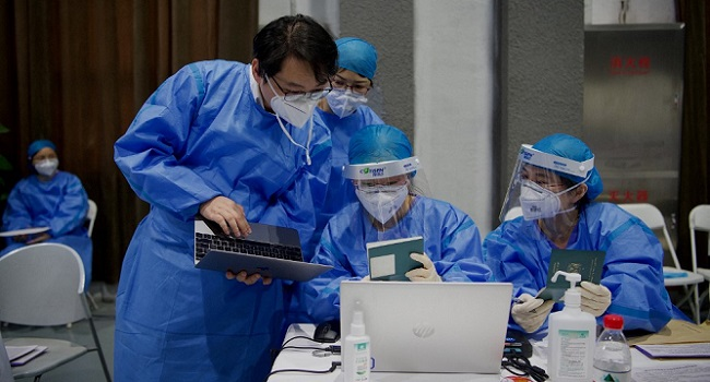 China Says WHO Plan To Audit Labs In COVID-19 Origins Probe 'Arrogant'