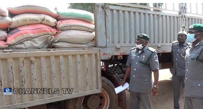 Customs Seize Smuggled Goods Worth Over N116million In Kaduna