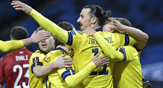 Ibra Feeling 'Good' After Winning Sweden Return, Germany Stage Rights Protest