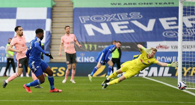 Iheanacho Scores Hattrick In Leicester City's Demolition Of Sheffield