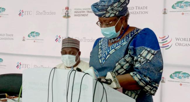 Okonjo-Iweala Meets With Female Entrepreneurs, Calls For Global Competitiveness