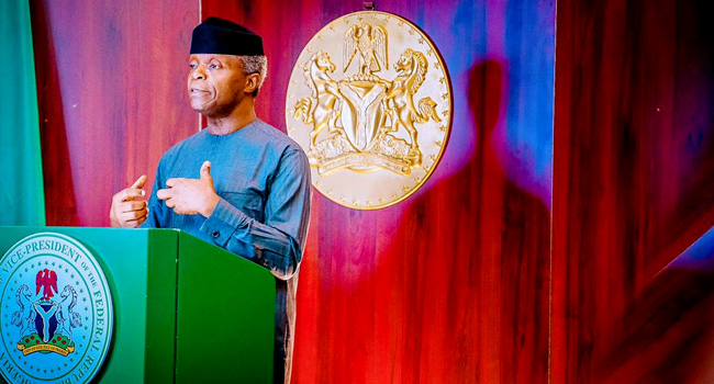 Osinbajo Asks European Countries To Invest In Africa