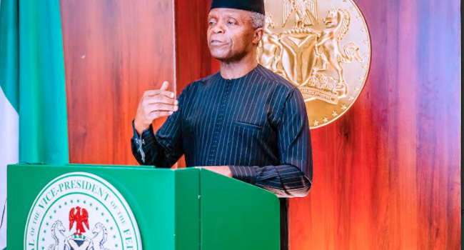 Osinbajo Has Not Declared Interest In 2023 Presidential Race – Aide –  Channels Television