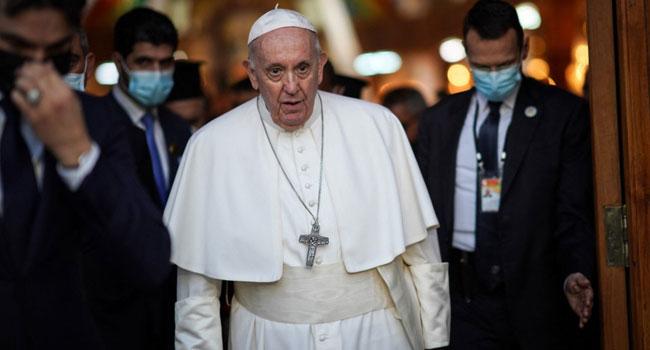 Christian Exodus Does 'Incalculable Harm' To Mideast, Says Pope Francis