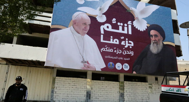 Pope Reaches Out To Top Shiite Cleric In Iraq