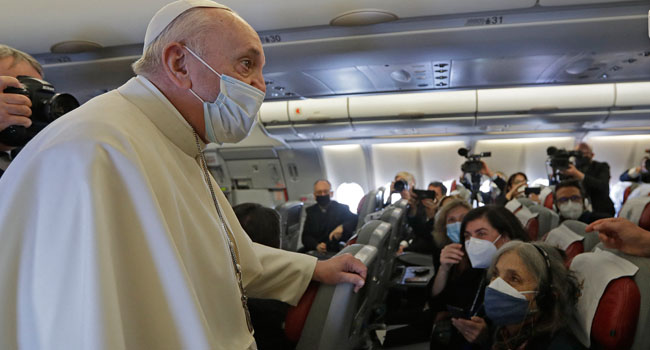 Vatican: Pope Had Brief Fever But Tested Negative For 'Abnormalities'