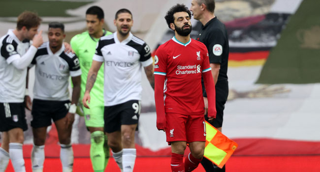Liverpool Suffer Sixth Consecutive Home Defeat, Slump Against Fulham