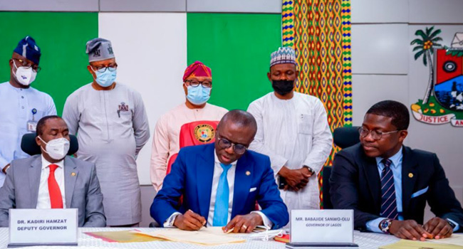 Sanwo-Olu Approves 21-Year Jail Term For Cultists, Signs Bill Into Law