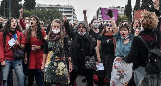 Women's Day Held In Greece Amid #MeToo Furore