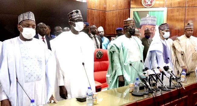 APC Governors  Donate N50m To Market Fire Victims