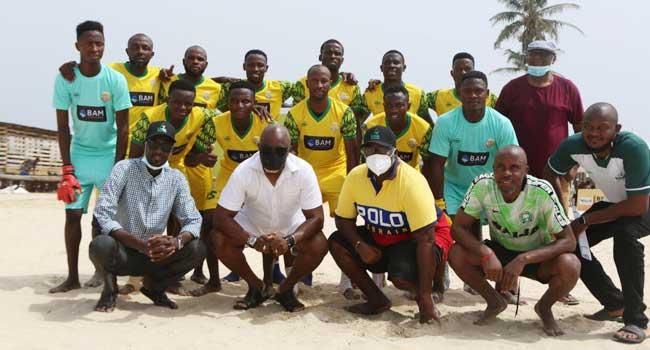 New Nigeria Beach Soccer League Kicks-Off In Lagos