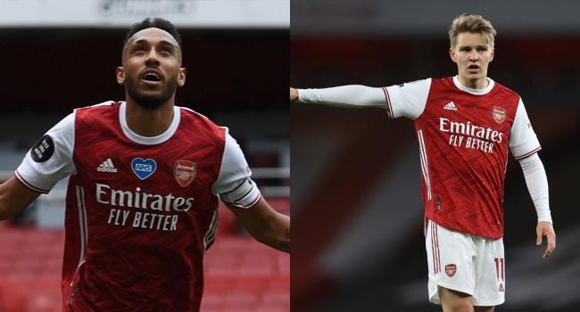 Arsenal Wait On Aubameyang, Odegaard Ahead Of Slavia Tie