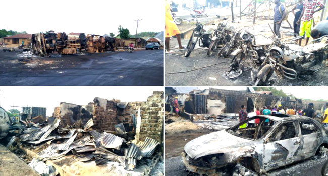 Death Toll In Benue Tanker Explosion Rises To 13