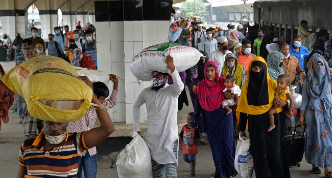 Bangladesh Shuts Down Offices, Transport As  COVID-19 Cases Surge
