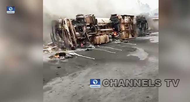 UPDATED: Seven Confirmed Dead In Benue Tanker Explosion
