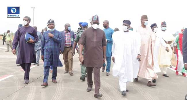 PHOTOS: PDP Governors Meet In Benue After Communal Clash