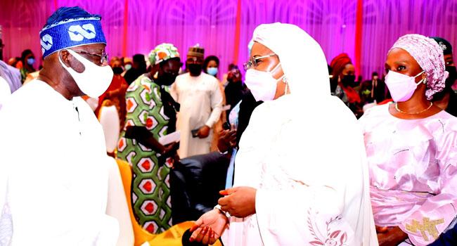 'A Voice Of Conscience,' Tinubu Praises Aisha Buhari At Book Launch