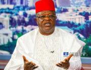 A file photo of Ebonyi Sate Governor, Dave Umahi. Sodiq Adelakun/Channels Television