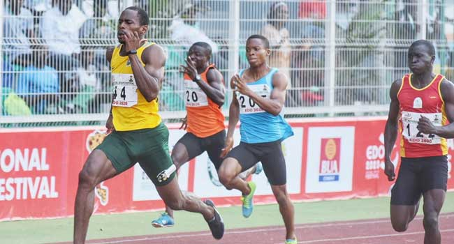 NSF 2020: Tonjor Leads Edo To Win Gold In Swimming, Delta Wins 400m Hurdles Gold