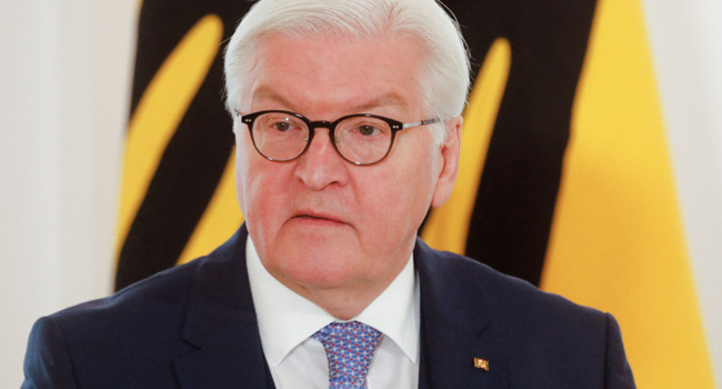 COVID-19: German President Steinmeier Receives AstraZeneca Jab