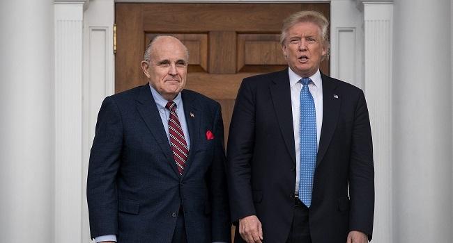 Trump Lawyer Rudy Giuliani's Apartment Raided In Federal Probe