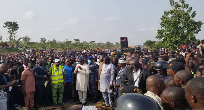 IDPs Block Makurdi-Lafia Highway, Protest Killing Of Seven By Herdsmen