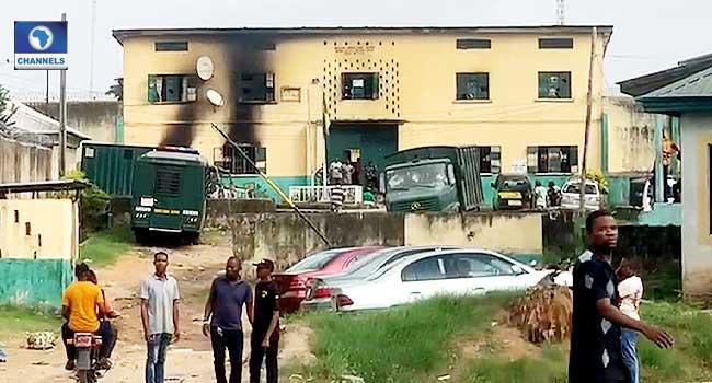At Least One Dead As Gunmen Attack Imo Prison, Police Headquarters