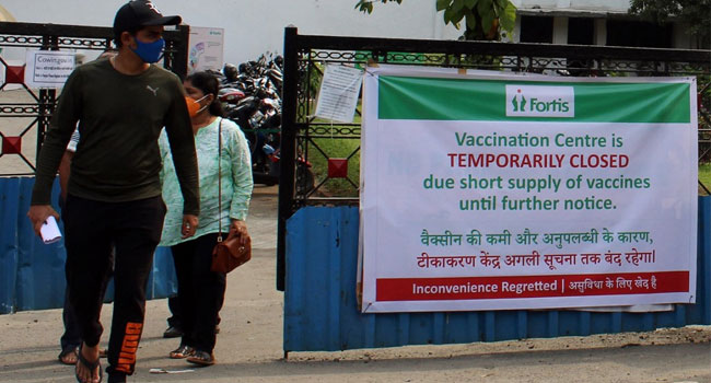 India Suffers Vaccine Shortages As Virus Surges