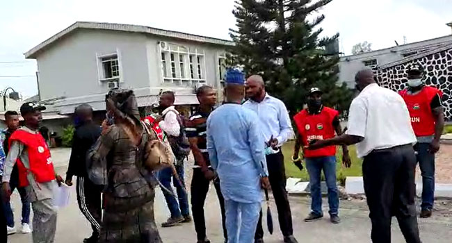 Judiciary Staff Union Storms Courts In Lagos To Enforce Strike