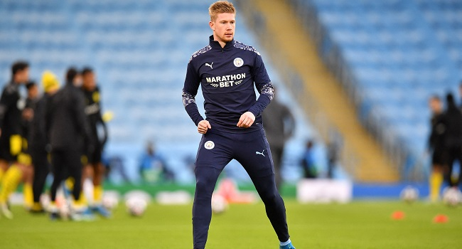 Kevin De Bruyne Signs Contract Extension At Man City