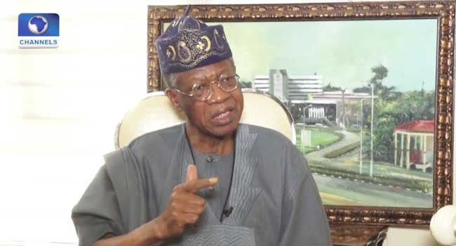 You Need More Energy To Break Nigeria Than Fix It – Lai Mohammed