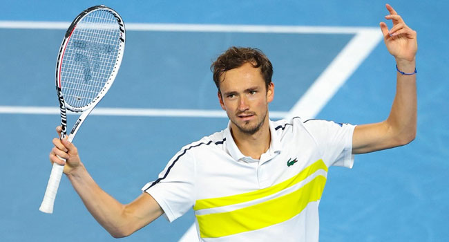 Medvedev Positive For COVID-19, Withdraws From Monte Carlo