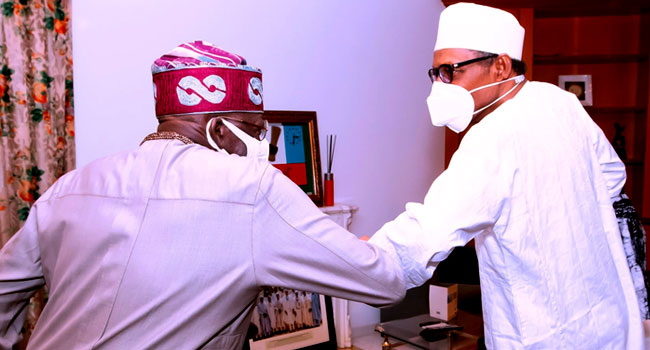 Insecurity: Tinubu Meets Buhari, Says No President Wants His Nation Fractured