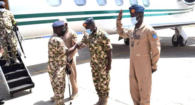 Missing Aircraft: Air Force Chief Visits Borno, Calls For Calm