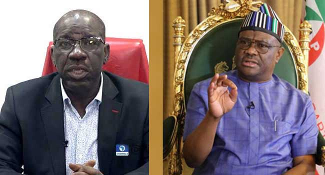 Obaseki's ₦60bn Claim Can't Be Misleading, Says Wike