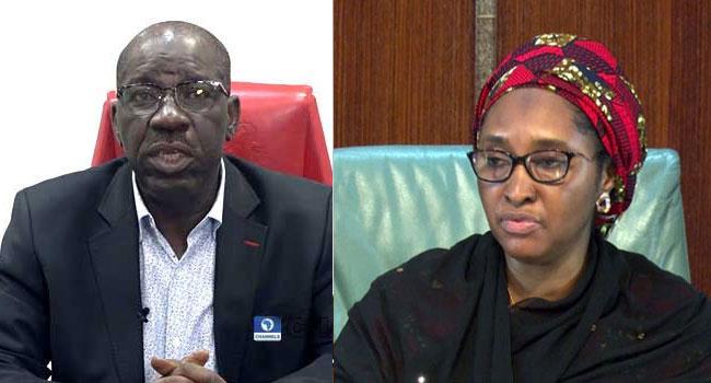 Obaseki Replies Finance Minister, Asks FG To End 'Monetary Rascality'