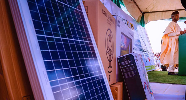Osinbajo Launches Solar Power In Jigawa, Says It's Time To Provide More Electricity – Channels Television