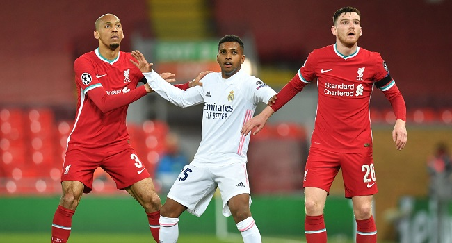 Liverpool were left to rue a host of missed chances as Real Madrid held out for a 0-0 draw