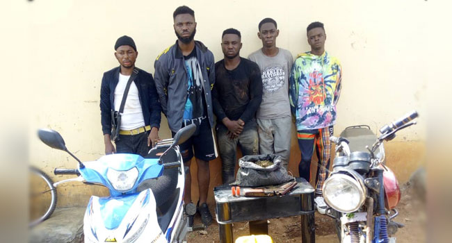 Police Storm Initiation Ground, Arrest Five Suspected Cultists