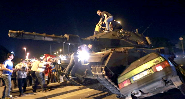 Turkey Jails 22 Ex-Soldiers For Life Over 2016 Coup Bid